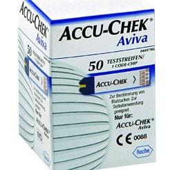 Bandelettes de test Accu-Chek Aviva