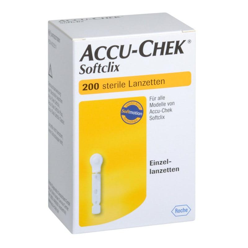 Accu-Chek Softclix Lanzetten mit Silikonbeschichtung und präzisem Schliff