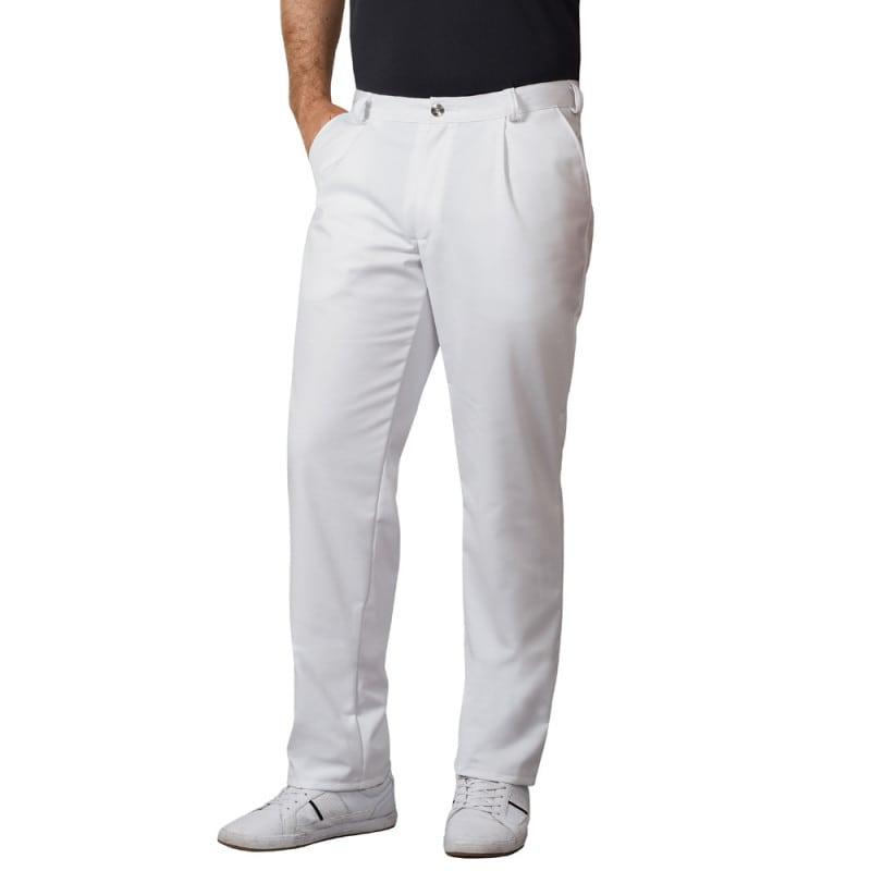 Weiße Herren-Arzthose von Bierbaum-Proenen