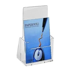 Tabletop Brochure and Leaflet Holder