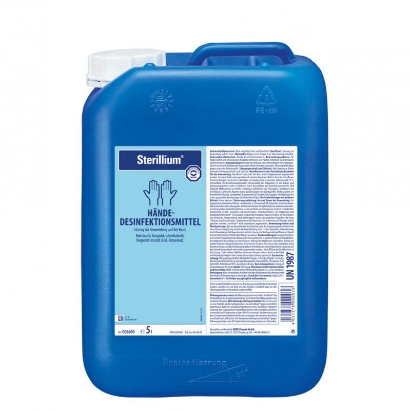 Sterillium Hände-Desinfektionsmittel mit breitem Wirkungsspektrum