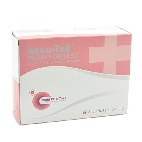 Test rapide de saignement occulte Accu-Tell, 20 pcs.