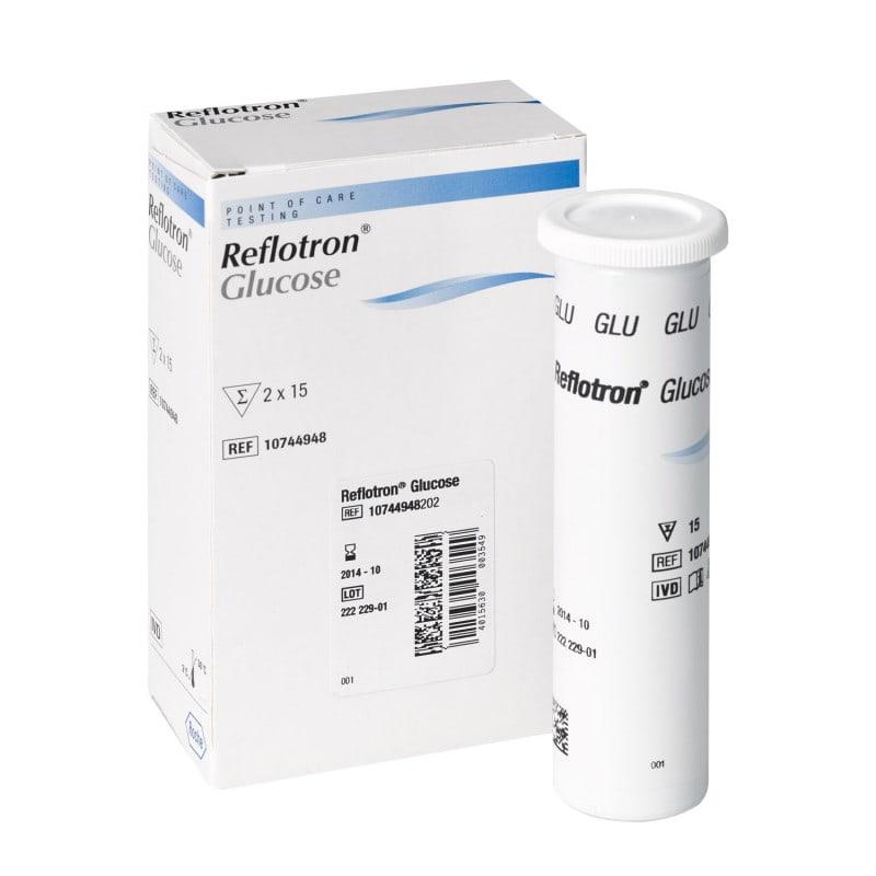 Strisce reattive per glucosio Reflotron