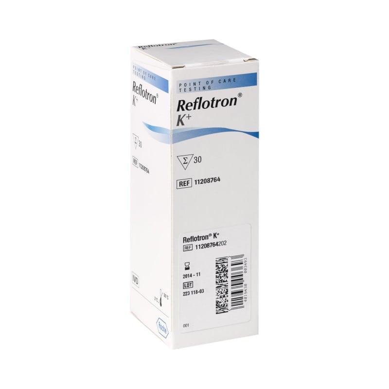 Teststreifen von Roche Diagnostics zur quantitativen Bestimmung von Kalium