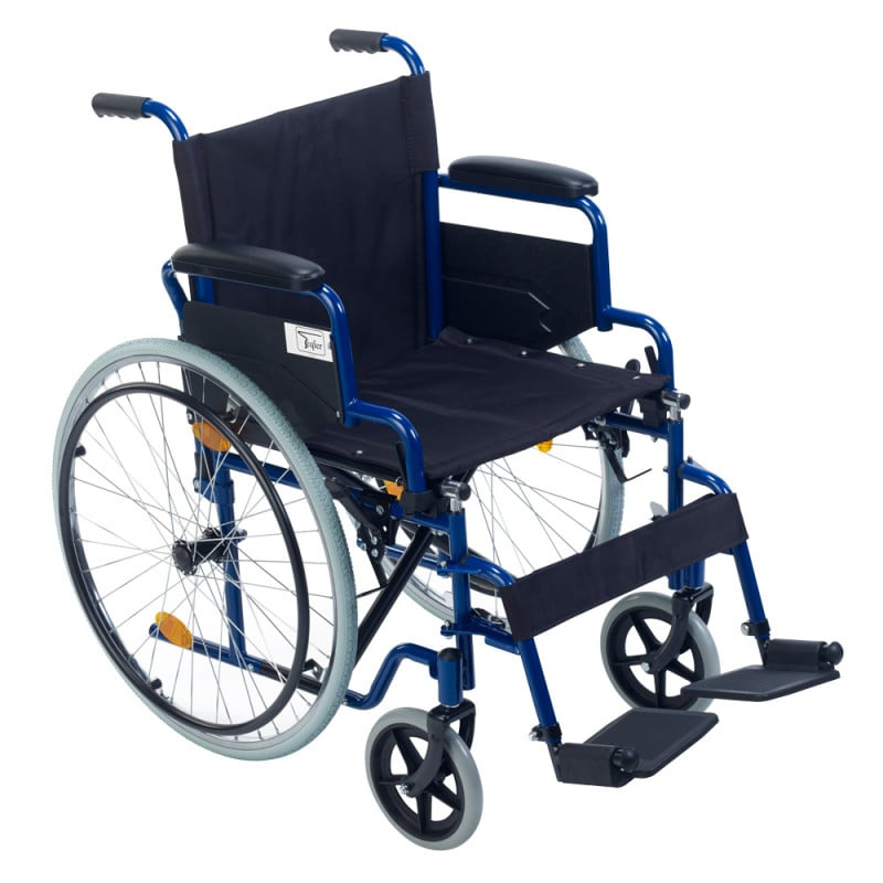 Robust folding wheel chair