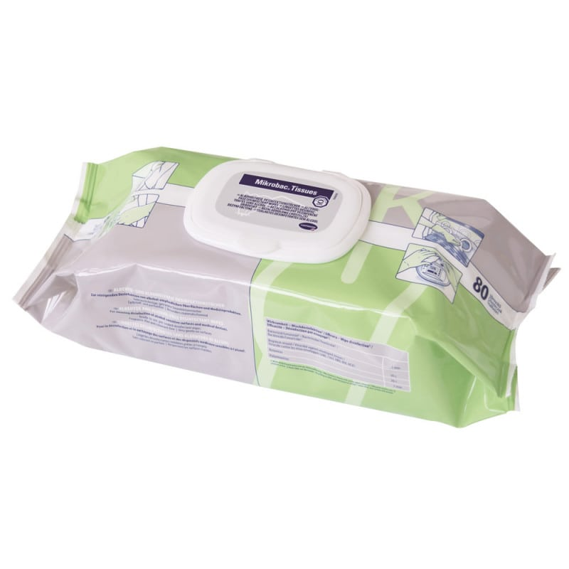 Mikrobac Tissues, Disinfectant Wipes
