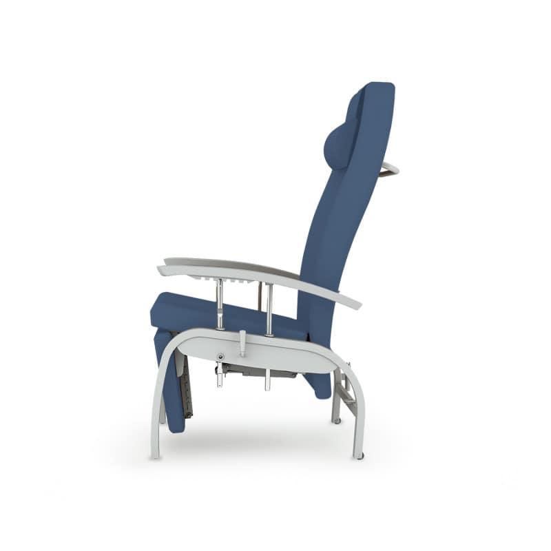 Ruheliege und Pflegesessel «Fero» mit Polsterung aus Visco-Elastic-Schaum