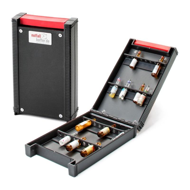 Ampullen-Box von notfallkoffer.de für den sicheren Transport von Glasampullen