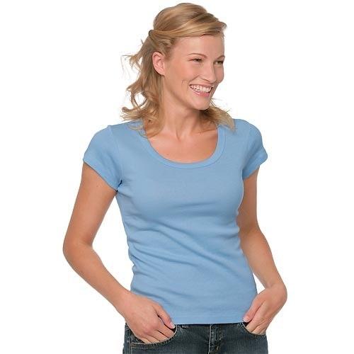 Koszulka damska z okrągłym dekoltem