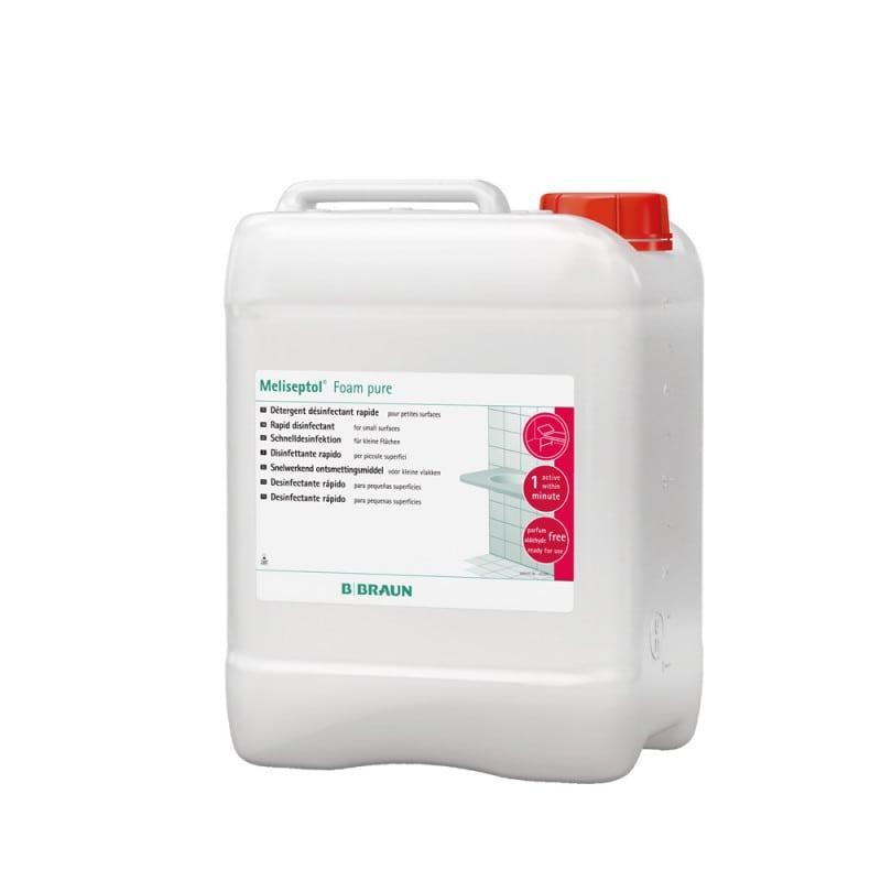 Meliseptol Foam pure mit breitem Wirkspektrum & neutralem Geruch