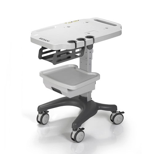 Trolley for the D3, D6 and DUS 60 Ultrasound Machines