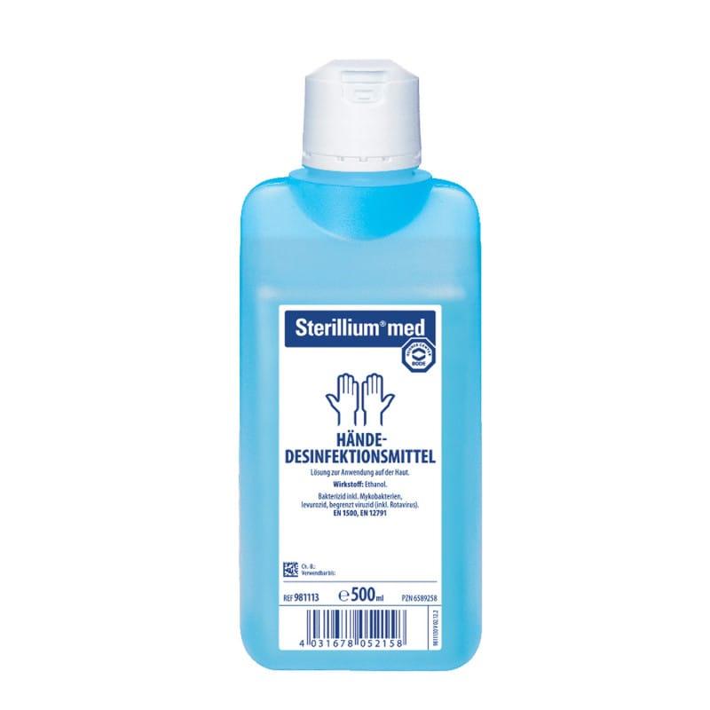 Bode Sterillium med parfüm- und farbstofffreies Händedesinfektionsmittel