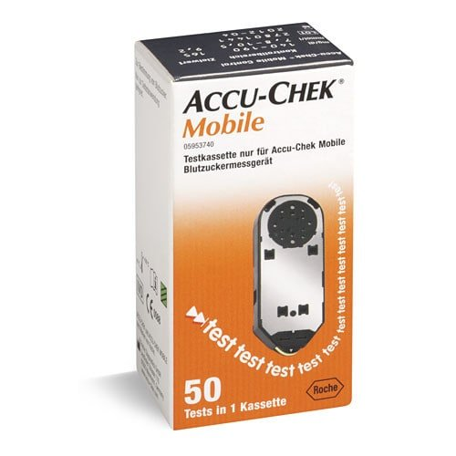 Kaseta testowa do Accu-Chek Mobile