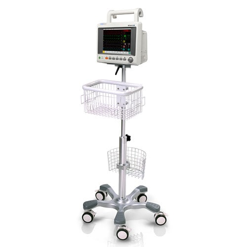 Wheeled Patient Monitor Stand for EDAN iM50
