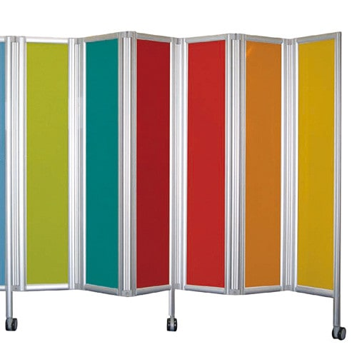 Coloured Plexiglas Panels for the ropimex® Folding Wall