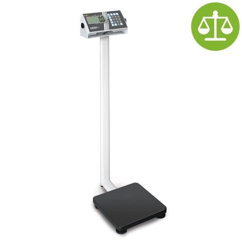 Pèse-personne numérique à colonne, calibré