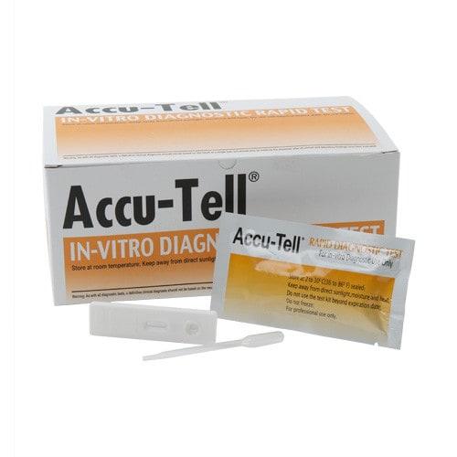 Accu-Tell Troponin I rapid test, quantity20