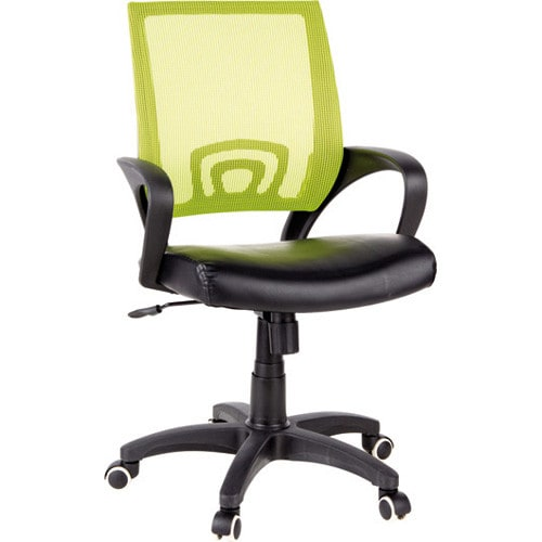 Ergonomic office chair with breathable mesh fabric backrest