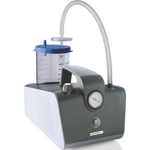 Aspirador quirúrgico Asped 2 Professional con recipiente de secreciones de 1 litro