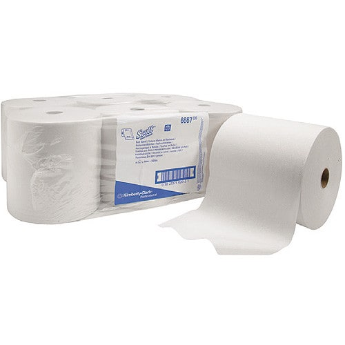 Kimberly-Clark roll towel made from 2-ply cellulose