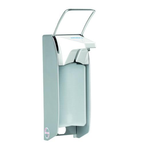 Schülke Armhebelspender - Gehäuse aus Aluminium (wirkt bakteriostatisch)