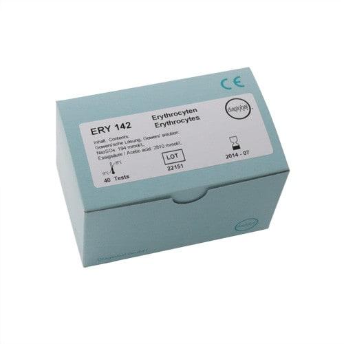 Erythrocyte test cuvettes, quantity 40