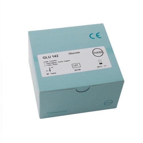 Testküvetten Glucose für diaglobal Photometer