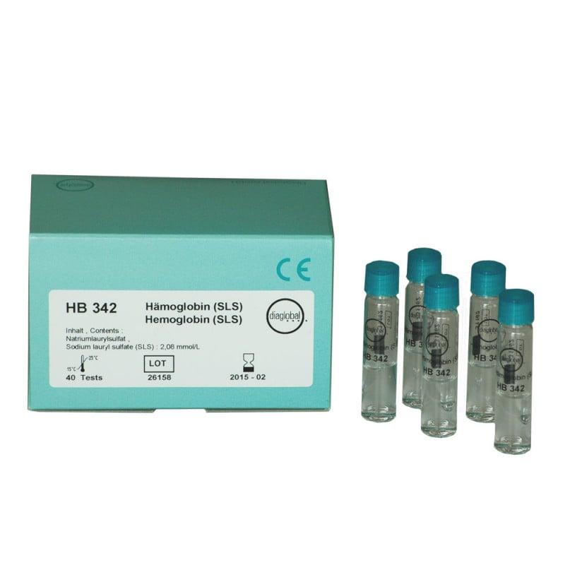 Test Cuvettes Haemoglobin SLS, 40 Units