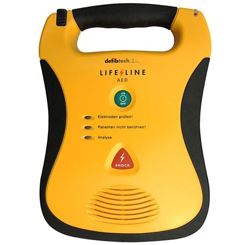 AED Lifeline Defibrillator, robust & stoßfest, mit Sprachansagen