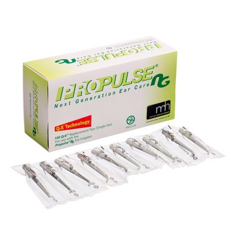 QrX Disposable Tips for Propulse Ear Wash System