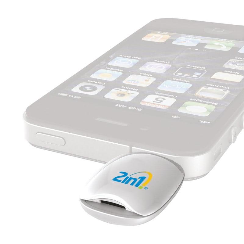 2in1 Blutzuckermessgerät für Smartphones und Tablets mit intuitiver Bedienung