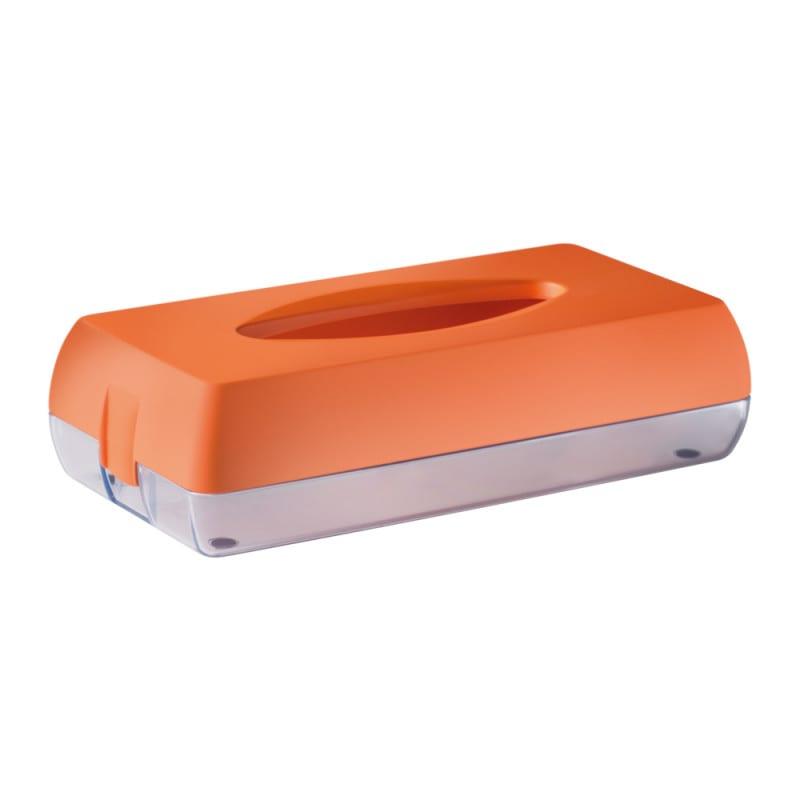 Marplast Kosmetiktuchspender aus Soft-Touch-Kunststoff