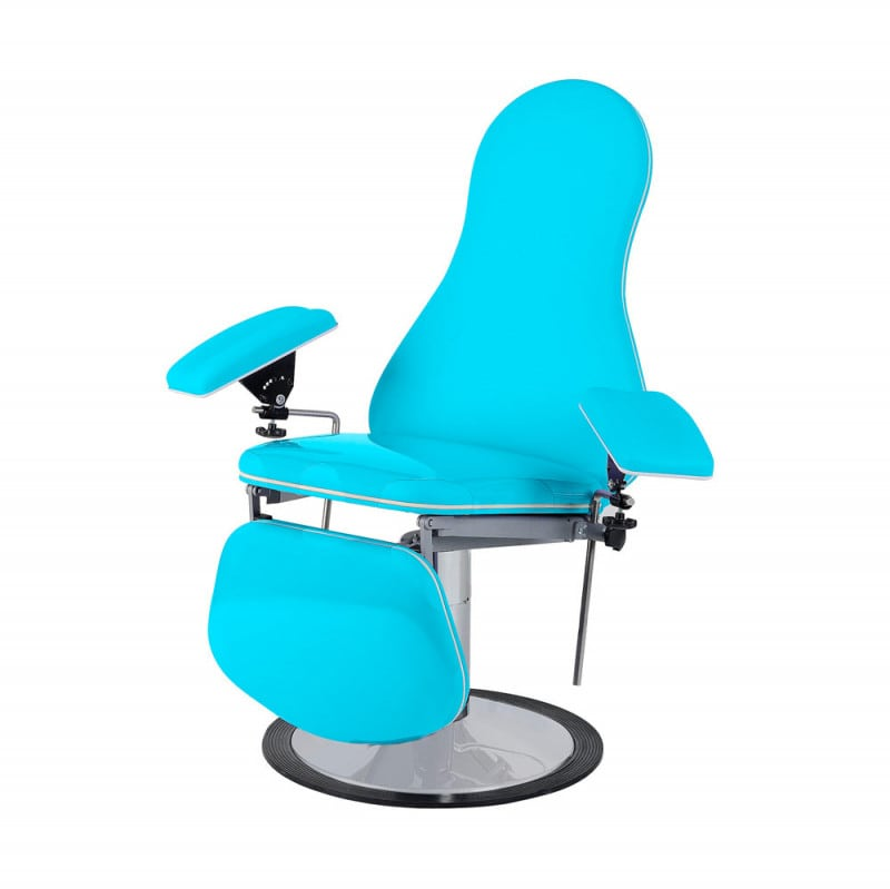 Designer blood collection chair