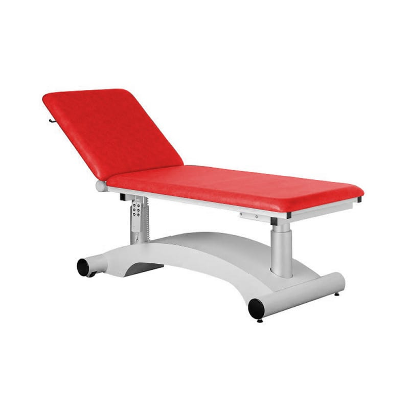 Electric treatment couch