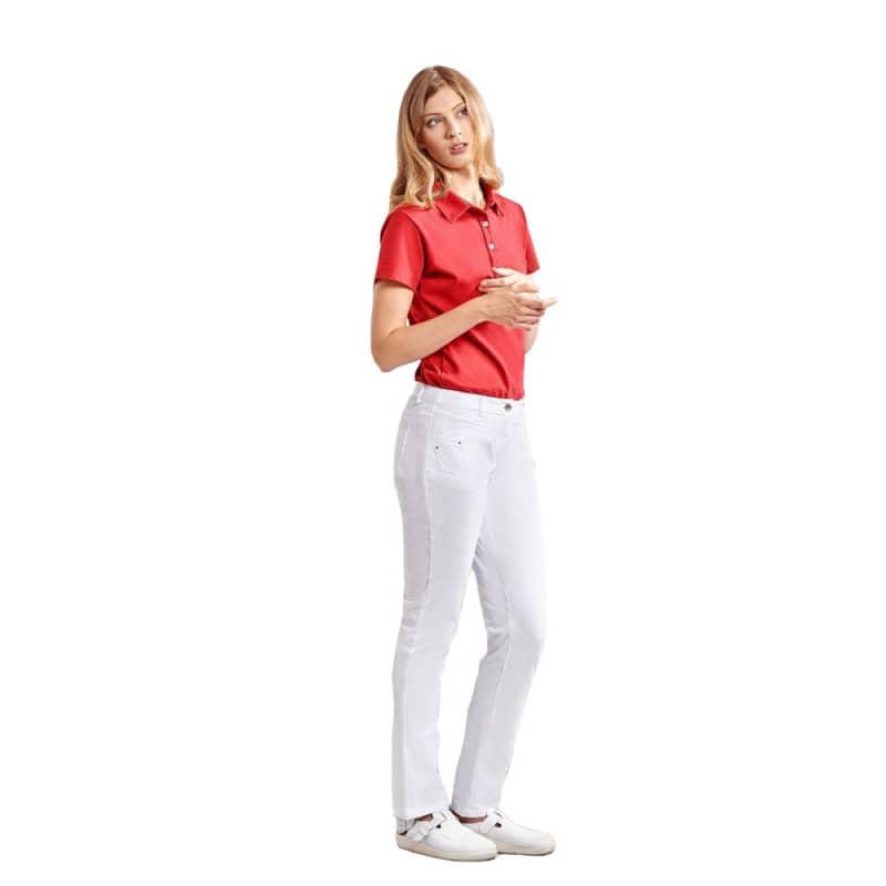 Klassische Damenjeans, Material: 63% Polyester, 34% Baumwolle, 3% Elastolefin