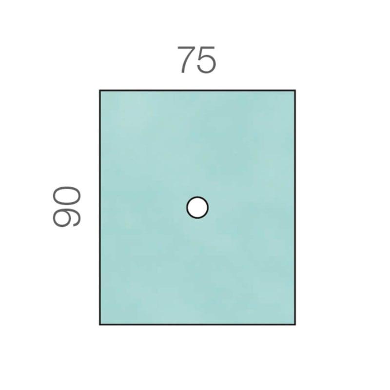 Raucodrape Lochtuch, 2-lagig. Erhältlich in verschiedenen Größen.
