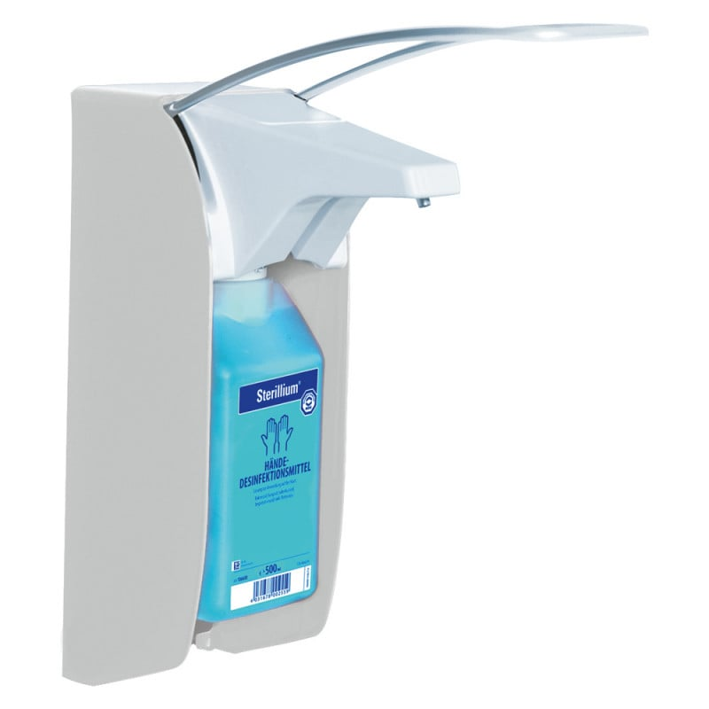 Bode Euro Dispenser, 1 Plus for 500 ml or 1 L bottles of hand sanitiser, etc.