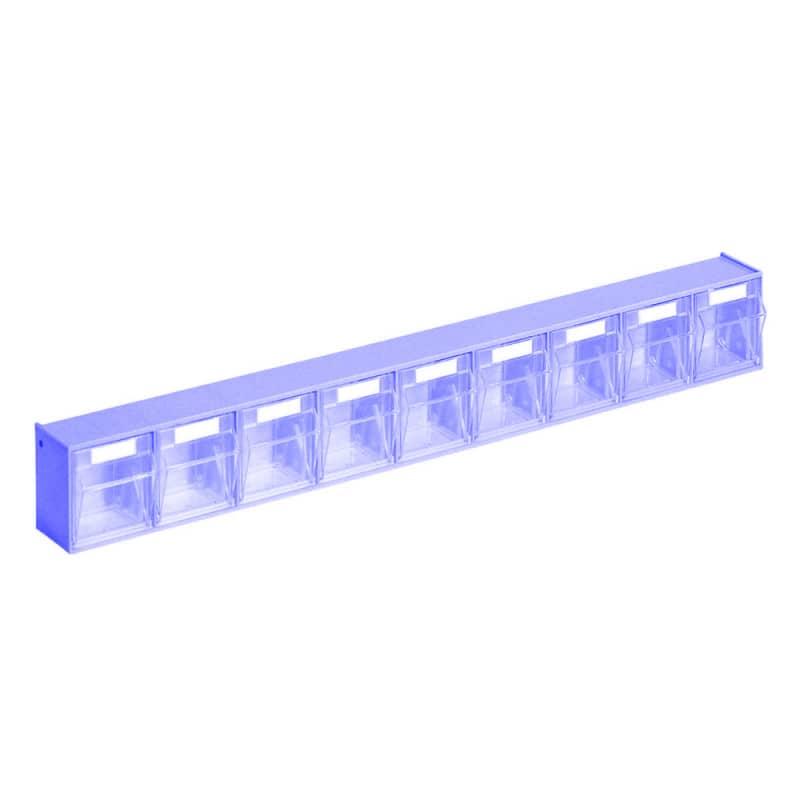 Kanülen- und Spritzenspender mit transparenten, stabilen Klarsichtboxen