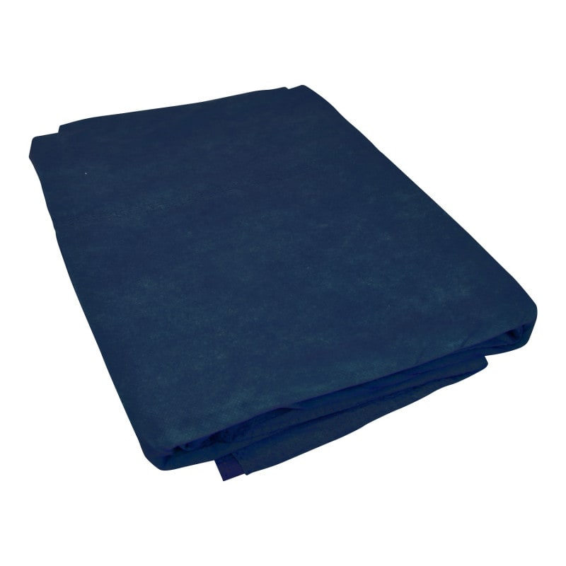 Disposable fleece blanket made from soft PP fleece with warm cotton stuffing