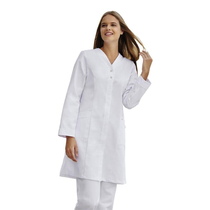 Taillierter Damen-Arztkittel