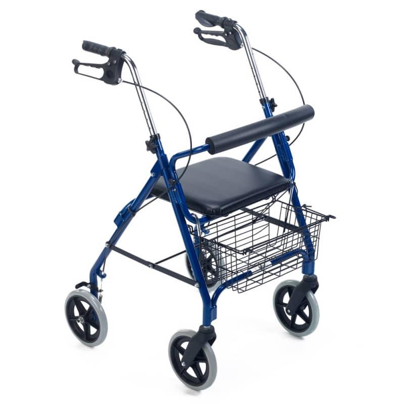 Rollator von Teqler für Patienten mit eingeschränkter Mobilität
