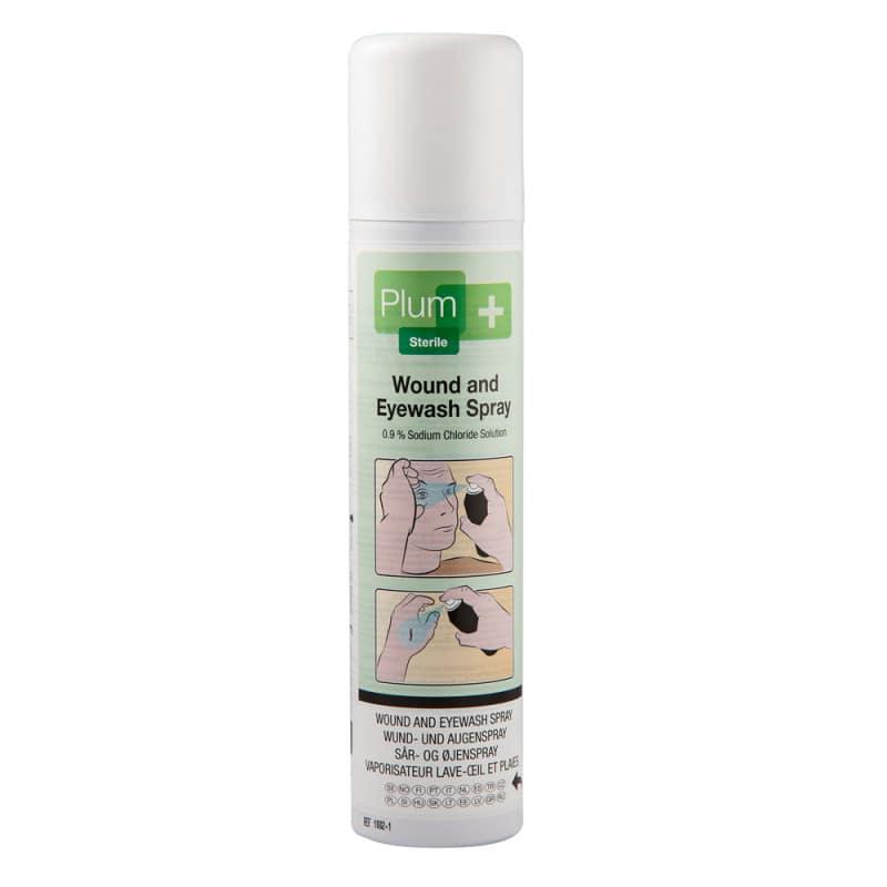 Plum Wund- und Augenspray mit steriler Natriumchloridlösung