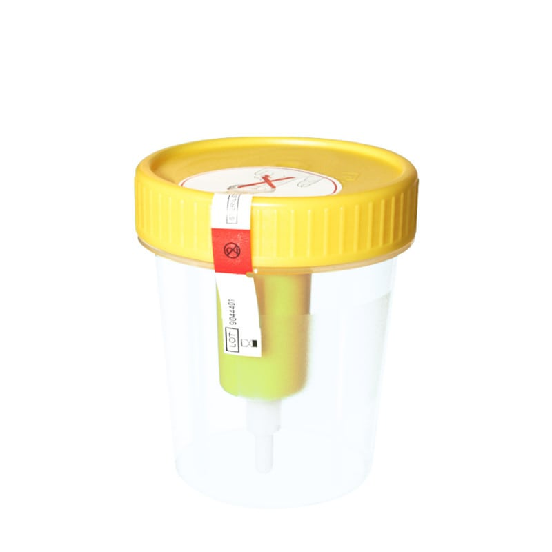 Urinbecher mit Transfereinheit für die V-Monovette Urin von Sarstedt