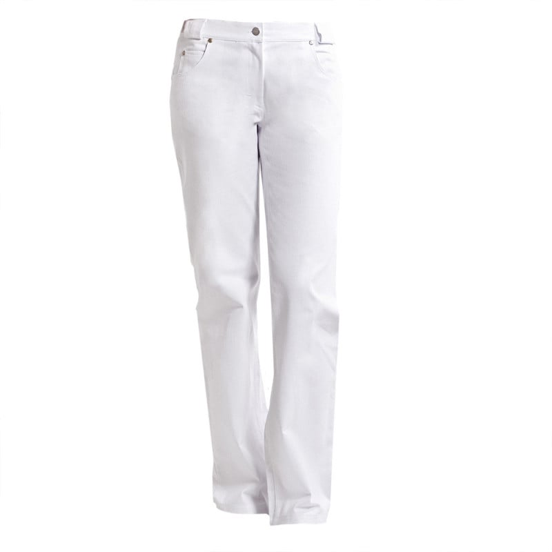 Chino-Hose für Damen mit hohem Stretch-Anteil und vielen praktischen Taschen