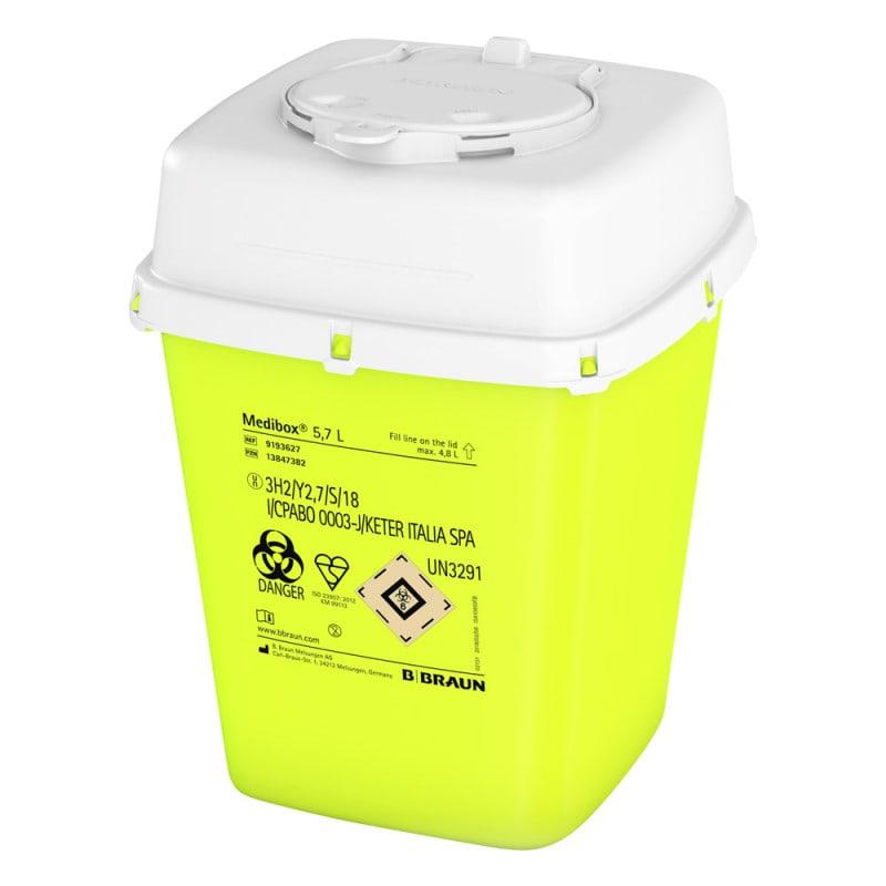 Medibox Entsorgungsbehälter mit Füllstandskontrolle
