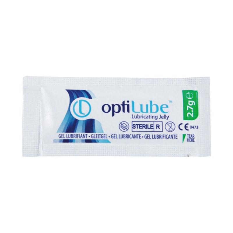 OptiLube medizinisches Gleitgel mit guter Verträglichkeit, pH-neutral und steril