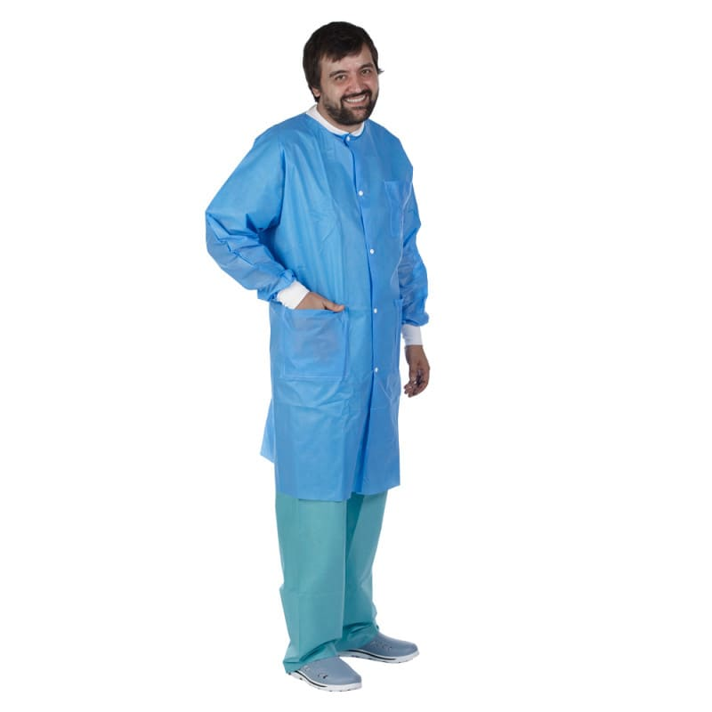 Teqler disposable lab coat