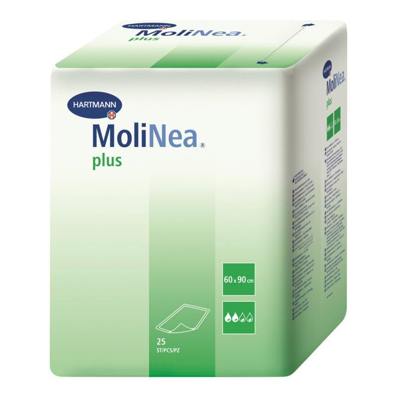 MoliNea plus Inkontinenz-Unterlagen mit Saugkörper in mittelschwerer Qualität
