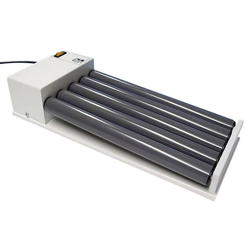 Taumel-Rollenmischer mit 5 synchron laufenden PVC-Rollen