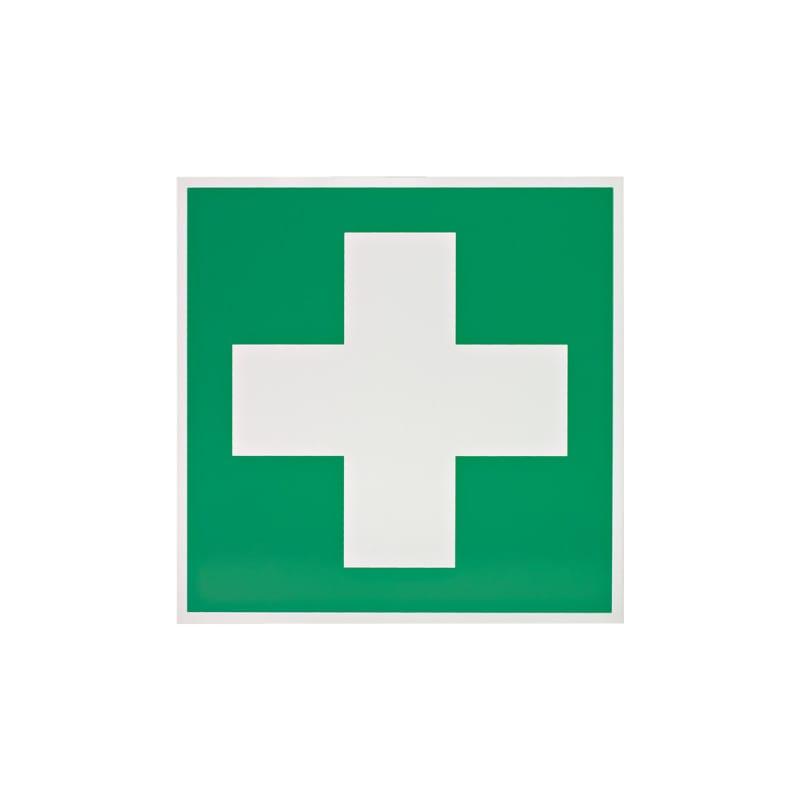 Erste-Hilfe-Beschilderung nach DGUV-Vorschrift 9 und entsprechend der DIN 3864-1